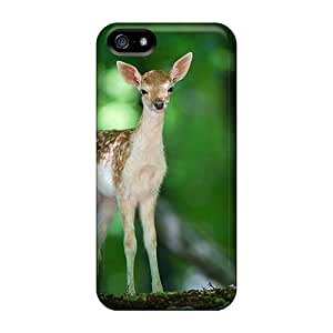 New Baby Deer In The Forest Tpu Skin Case Compatible With iphone 6