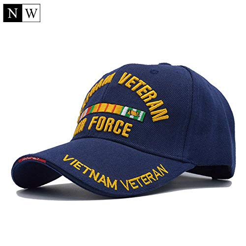 new release classic shoes reasonably priced Skcool New US Air Force One Baseball Cap Men Brand USAF for Army Cap  Trucker Hat Mens Bone Dark Blue
