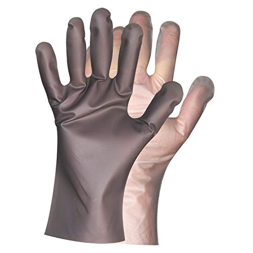 Super Strong Disposable Work Gloves by Protospheric - Reusable. Safety Cut/Tear Resistant Level 1, Abrasion Chemical Water Resistant. Free of: Nitrile Latex Vinyl Rubber Powder. 25 pair S