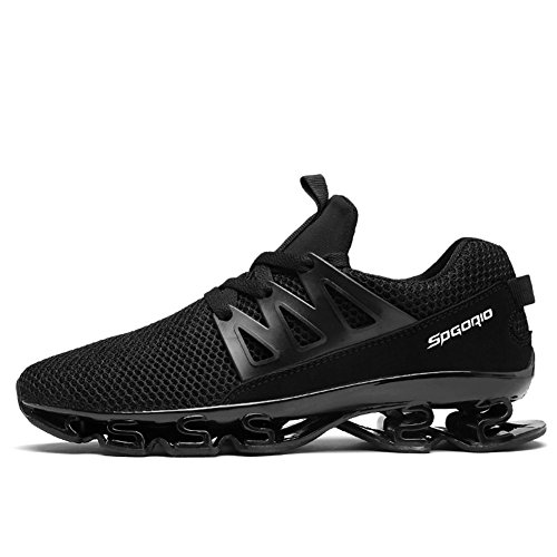 Pictures of Wensom Men's Outdoor Sneakers Trail Running Hiking Jogging Shoes WSMHSTK10-Bl45 7