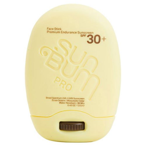 Sun Bum Signature Mineral-Based Moisturizing Sunscreen Face Stick, Clear, SPF 30, 0.45 oz. Stick, 1 Count, Broad Spectrum UVA/UVB Protection, Zinc Sunblock, Hypoallergenic, Non-Migrating