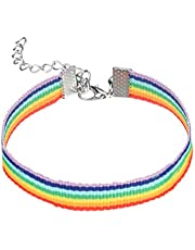 Holibanna 2St Trots Armband Regenboog Lgbt String Armband Polsband Voor Mannen Vriendschap Armband