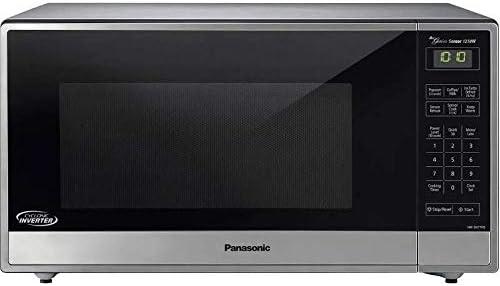 Panasonic NN-SN77HS Genius Sensor Microwave - With Inverter Technology - Stainless Steel - 1.6 Cu. Ft. 1250W (Renewed)