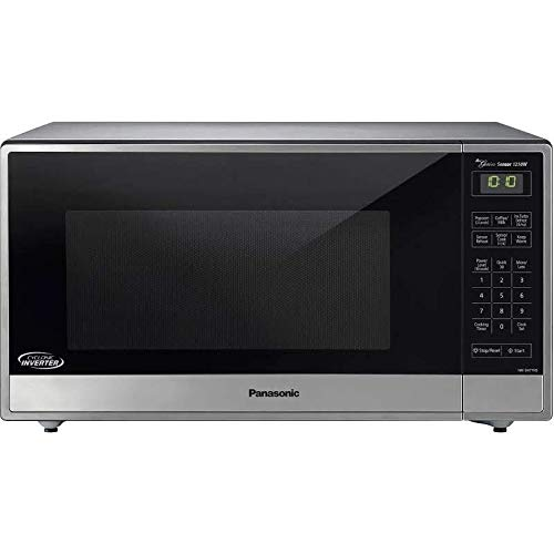 Panasonic NN-SN77HS Genius Sensor Microwave - With Inverter Technology - Stainless Steel - 1.6 Cu. Ft. 1250W (Renewed)