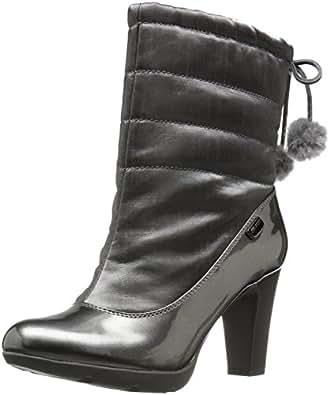 Amazon.com | Anne Klein Women's Xhale Fabric Winter Boot