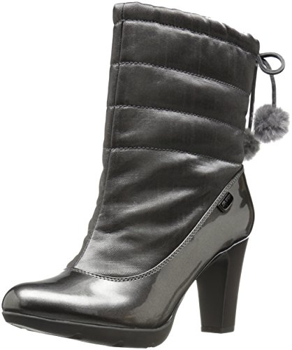 Anne Klein Women's Xhale Fabric Winter Boot - Pewter - 10...