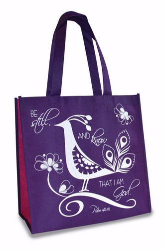 Divinity 12.5 X 6 X 12 Inspirational Eco Tote Reusable Shopp