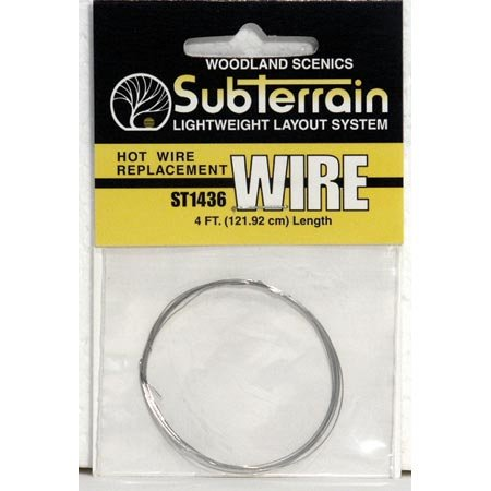 Woodland Scenics Hot Wire Replacement Wire 4' WOOST1436 (Foam Hot Wire Cutter compare prices)