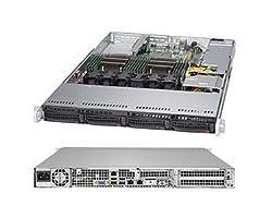 Supermicro SuperServer 6018R-TDW Barebone System - 1U Rack-mountable - Intel C612 Express Chipset - Socket R3 (LGA2011-3) - 2 x SYS-6018R-TDW