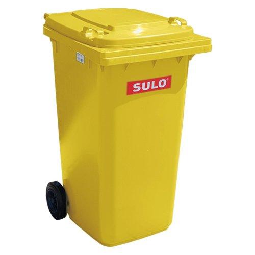 SULO 2-Rad Behältersysteme 240 L gelb