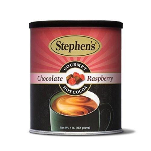 Raspberry Hot Cocoa - Stephen's Gourmet Hot Cocoa, Chocolate Raspberry, 16 OZ (Pack - 1)