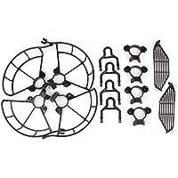 Protetor de Hélices, Dedos e Extensor Trem de Pouso Drone DJI Spark Cor Preto