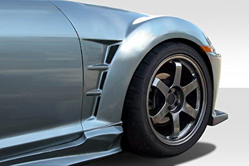 Duraflex Replacement for 2004-2008 Mazda RX-8 M-Speed Front Fenders - 2 Piece