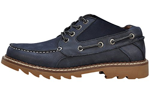 Serene Mens Lace Up Sports Sneakers Shoes(7.5 D(M)US, Navy)