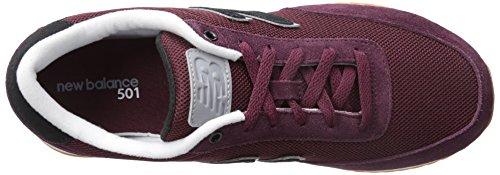 New Balance Mz501 Rpb, Zapatillas de Deporte Unisex Adulto Cereza chocolate con acero