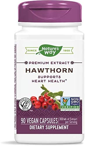 Nature s Way Hawthorn Berries, 90 Capsules Pack of 2