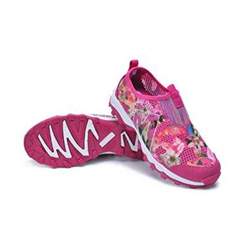 Hommes La Camouflage Imperméables Printemps Chaussures de Chaussures Été nihiug Air Shoes de Randonnée Cheville Léger Plein Respirant Red Mesh à 1wYPnt4nq