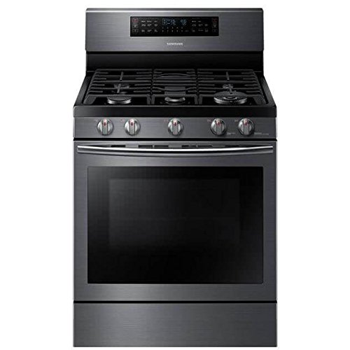 Samsung Appliance NX58J7750SG 30″ True Convection Gas Range with 5.8 Cu. Ft. Oven Capacity in Black Stainless