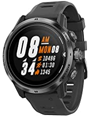 COROS APEX Pro Premium Multisport GPS Watch with 24/7 Heart Rate Monitoring, Sapphire Glass, Touch Screen, Barometer, ANT+ & BLE, Strava & TrainingPeaks