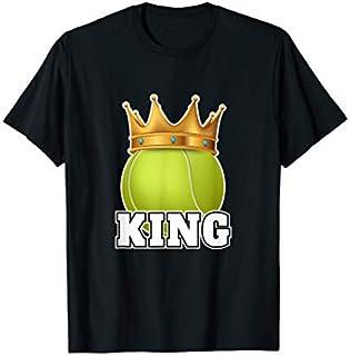 Birthday Gift Nice Tennis  for Men Woman Tennis King Tennis Balls Long Sleeve Funny Shirt / Navy / S - 5XL