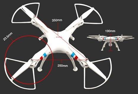 OneBird Syma X8W Wifi FPV 2.4G 6 Axis Gyro 4CH RTF RC Quadcopter ...