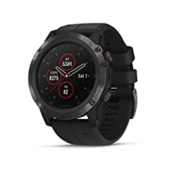 Intense performance meets precision timepiece in the Fenix 5X Plus multisport GPS watch. For athletes and outdoor adventurers, this ultra-rugged watch features routable color TOPO maps, estimated heart rate at the wrist, Pulse Ox Acclimation,...