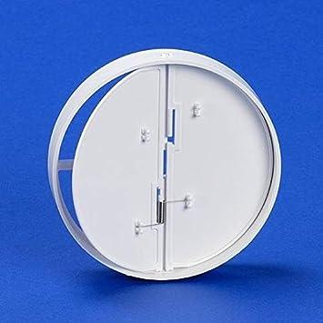 Clapet Anti-Retour de Ventilation /Ø 100 mm raccord de ventilation en ABS