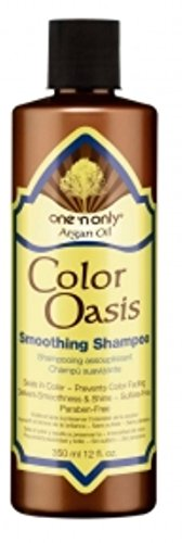 12 Oz Smoothing Shampoo - One N' Only Argan Oil Color Oasis Smoothing Shampoo, 12 oz (Pack of 5)