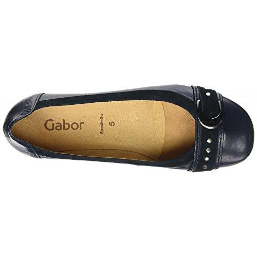 Shoes para Gabor Bailarinas Casual Mujer 26 Azul Gabor Ocean 4WqIId