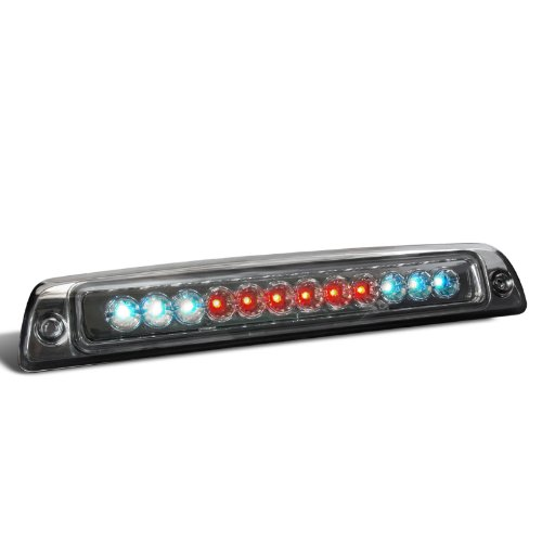 Spec-D Tuning LT-RAM94RBGLED-CY Dodge Ram 1500 2500 3500 Smoked Lens 3Rd Led Brake Light