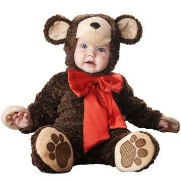[Lil Teddy Bear Costume - Infant Medium] (Lil Teddy Bear Costume)