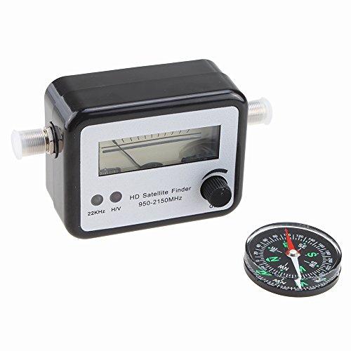 AGPtek Digital Satellite Finder Signal Meter Finder Meter