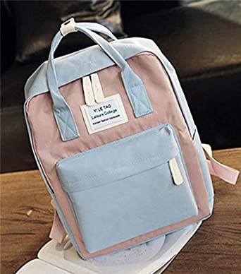 Image Unavailable. Image not available for. Color  Multifunction women  backpack fashion youth korean style shoulder bag laptop schoolbags for teenager  girls ... 851e47a839dd5