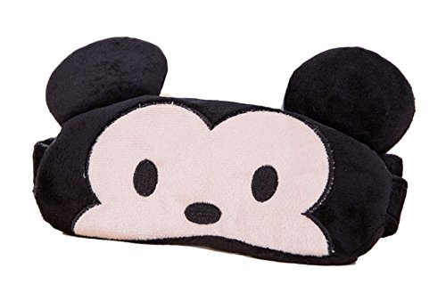 Mickey Mouse Character Cooling Eye Therapy Plush Sleep Mask