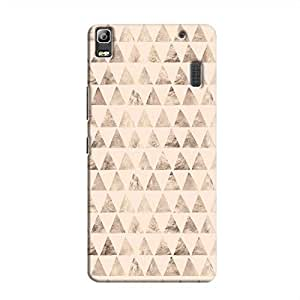 Cover It Up - Brown Pastel Triangle Tile A7000 / K3 Note Hard Case