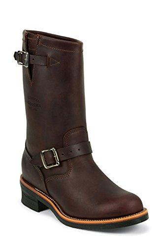 Chippewa 1901M49 cuir homme boots bottes marron-oil, cordovan tanned v-bar li