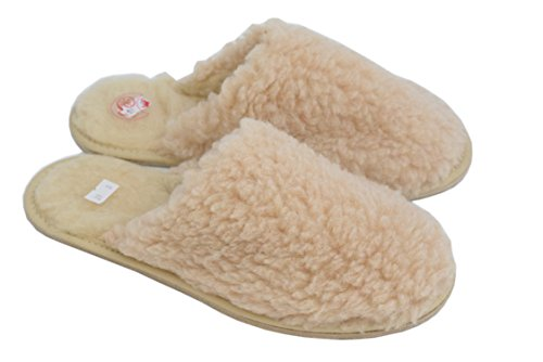 1870womens Natleat Slippers Pantofole Crema Giallo Wool Donna Sheep's Slippers amarillo 5pxvrRqpw