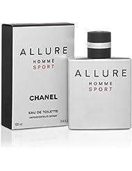 Chânel Allure Homme Sport Eau De Toilette Spray for Men, EDT 3.4 Ounces 100 ML