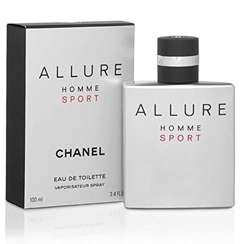 (Chânel Allure Homme Sport Eau De Toilette Spray for Men, EDT 3.4 Ounces 100 ML )
