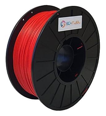 Filamento 3D para impresora de combustible, motor de bomberos rojo ...