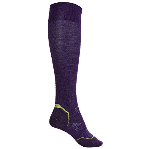 Smartwool Light Cushion Ski Socks Imperial Purple size Medium (Wmns 7-9.5 ()