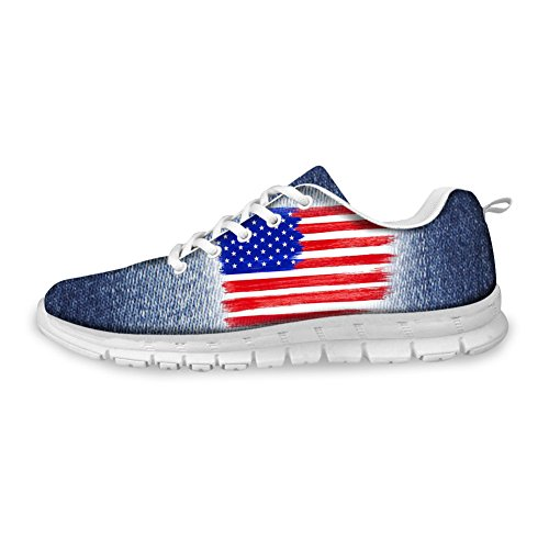 7 Women Outdoor pattern Men Flag UK Pattern Running Shoes Fashion Sport US CHAQLIN Sneaker 4nCqgFwO04