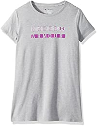 Girls Dot Wordmark Short Sleeve Athletic Shirt
