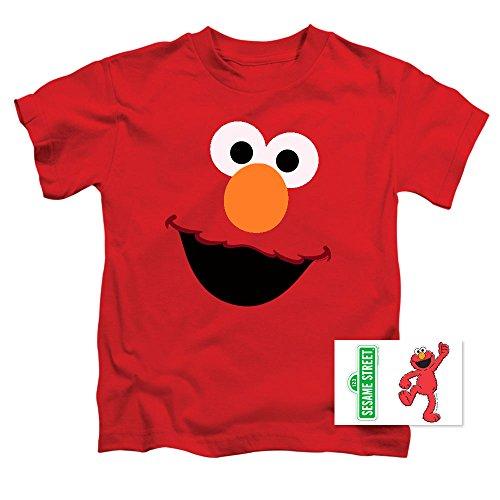 Toddler Sesame Street Elmo Face T Shirt (2T)