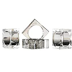 Crystal Napkin Holder Rings