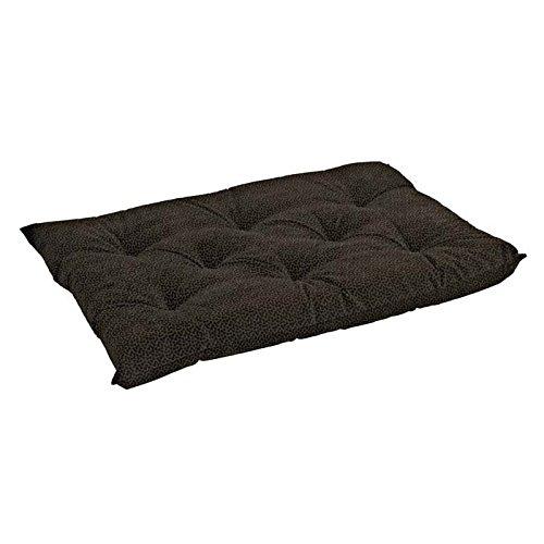 Bowsers Tufted Cushion, X-Small, Chocolate Bones