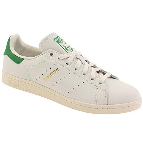 Sandalias 5 Gold EU 4 Unisex Plataforma Stan dorado Blanco verde White blanco Green adidas Smith con axwqB8wFE