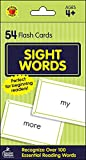 Carson Dellosa - Sight Words Flash Cards - 54 Cards for Phonics and Reading, Preschool / Kindergarten Toddlers, 1st Grade, Ages 4+ (Brighter Child Flash Cards)