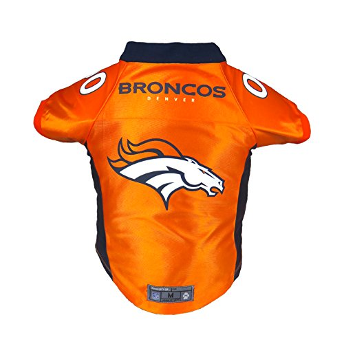 Littlearth NFL Denver Broncos Premium Pet Jersey, (Denver Broncos Nfl Uniform)