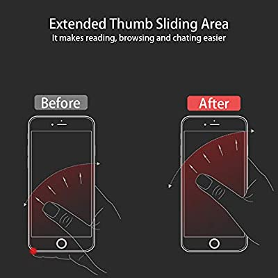 Ultra Slim Phone Ring Holder, Tomorotec Thin Cell Phone Ring Stand for Magnetic Car Mount with Black Car Mount Hook - for iPhone X XR XS 8 7 Plus 6S 6 5s 5 SE, Galaxy S8 S7 S6 Edge (Silver)